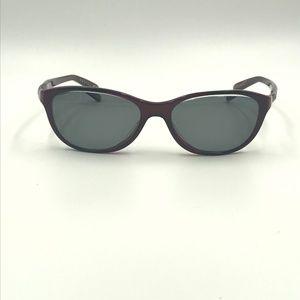 Oakley Accessories - OAKLEY DOWNSHIFT DARK PINK OVAL SUNGLASSES